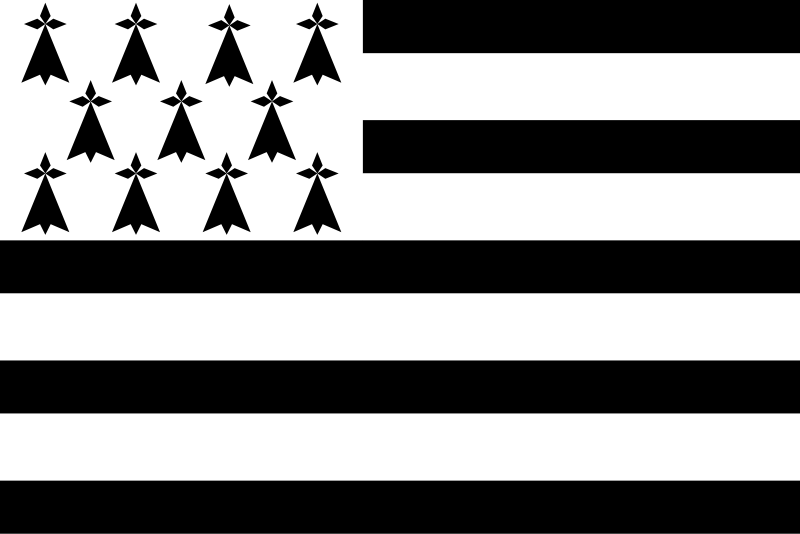 Brittany's regional flag