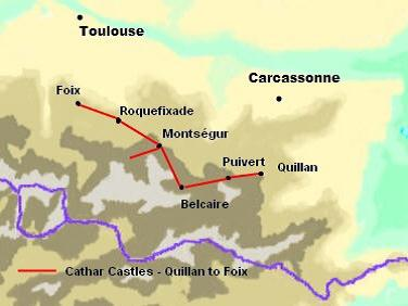 France Cathar Castles Trail Hike From Quillan To Foix Part 2