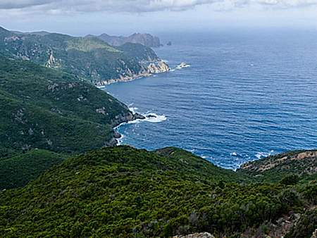 Corsica walking and bike tours